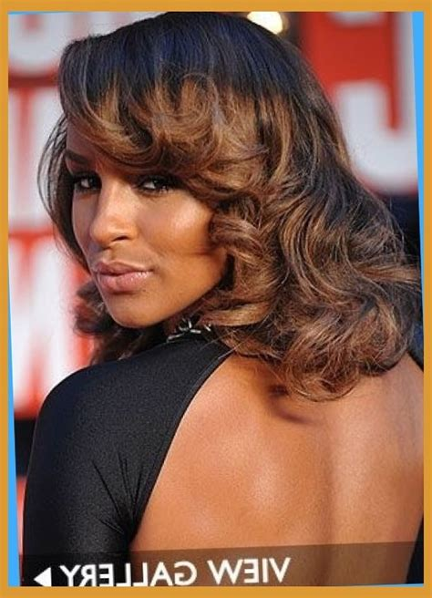 highlighting african american hair african american long hairstyles and highlights caramel