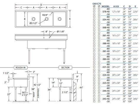 14 gauge heavy duty triple bowl stainless steel kitchen sinks