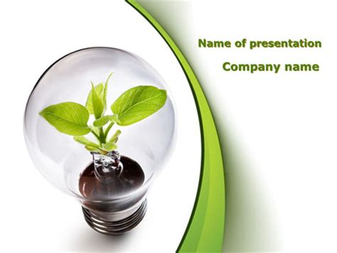 Renewable Green Energy Powerpoint Template Backgrounds 08950 Poweredtemplate Com Energy Powerpoint Template