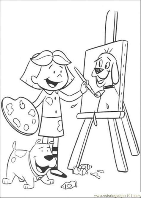 Coloring Pages Of Paintings painting pictures coloring home