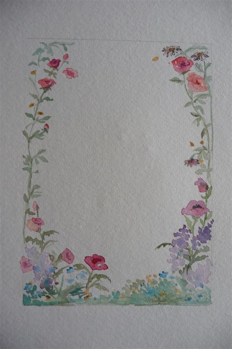 Can I Still Use A Borders Gift Card - create floral oval greeting card with one of a kind painting
