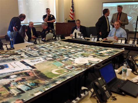 emergency management exercise held at greenwich police