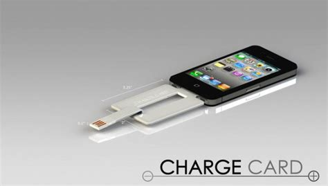 smallest iphone charger chargecard is an iphone charging cable that fits in your