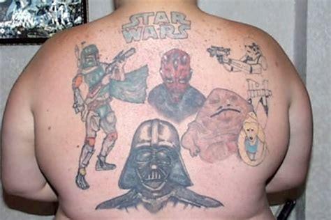 ひとりスターウォーズ タトゥー 海外セレブ 有名人のタトゥー おもしろ変な漢字のタトゥー画像 恥ずかしい