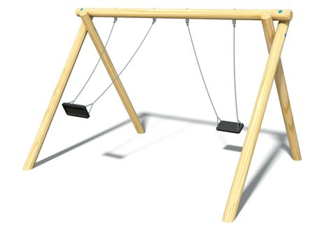 swing by swing timber swing with flat seats timber swings swings