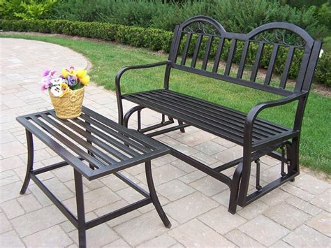 garden bench glider outdoor glider bench ideas the homy design