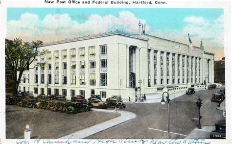 Bristol Ct Post Office by Post Office And Federal Building Hartford Ct Postcards Net