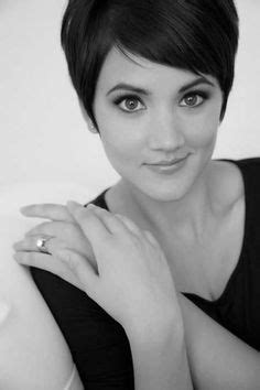 shag type hair does with hair tucked behind ears 1000 images about short hair on pinterest short bob