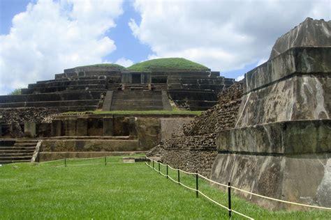 imagenes de vestigios mayas tazumal