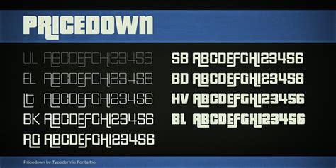 dafont down pricedown font dafont com