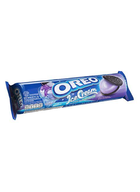 Oreo Biskuit Peanut Butter And Chocolate 137g Makanan Nagada Lezat kraft sandwich oreo blueberry pck 137g