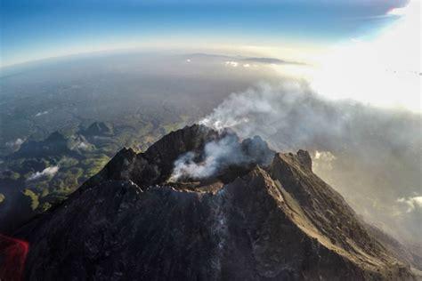 Drone Yogyakarta mount merapi java island indonesia dronestagram