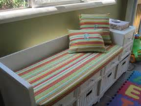 custom made bench cushion and pillows indoor or by taterbabies