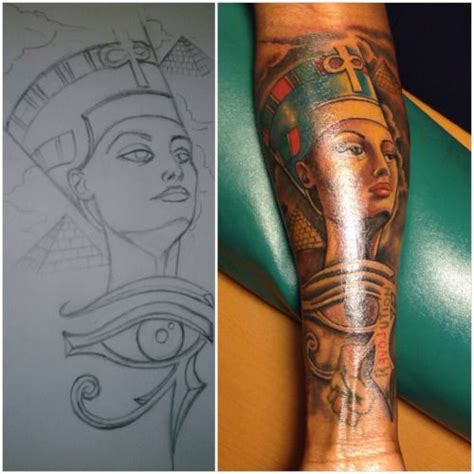 nefertiti tattoo best 25 nefertiti ideas on