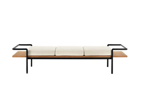 t bench buy the poltrona frau t 904 bench at nest co uk