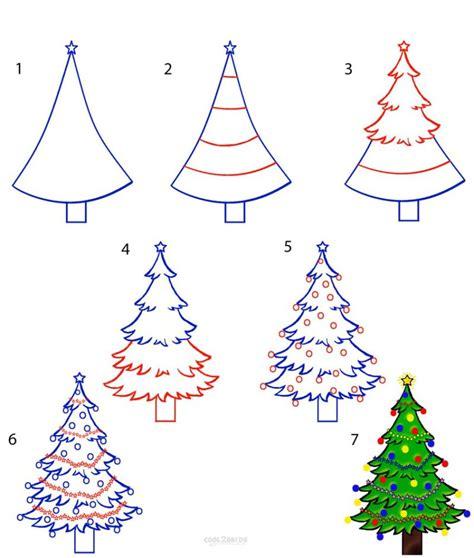 drawing step to step christmas decorations как се правят коледни рисунки наръчник картички мода рецепти съвети