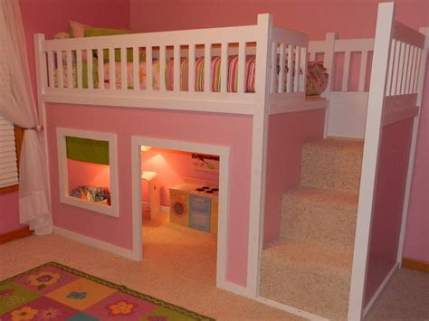 cool bunk bed plans cool pink bunk beds plans stroovi