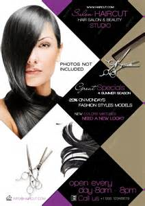 free hair salon flyer templates 12 hair salon flyer psd images hair salon flyer