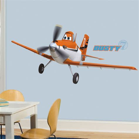 planes wall stickers disney planes dusty wall decal wall2wall