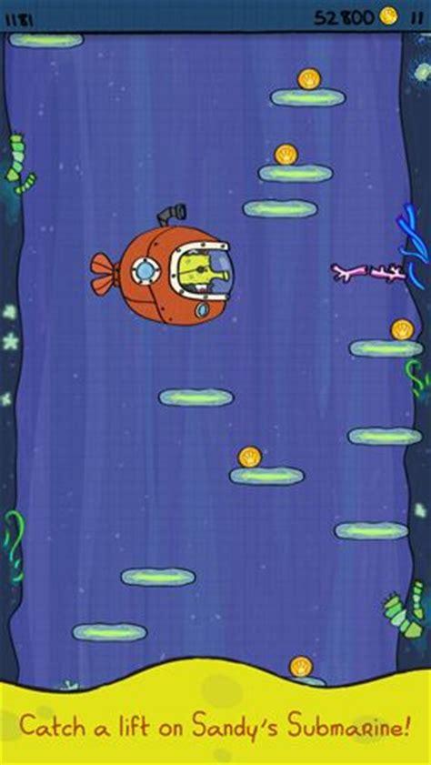 doodle jump real doodle jump sponge bob square iphone free