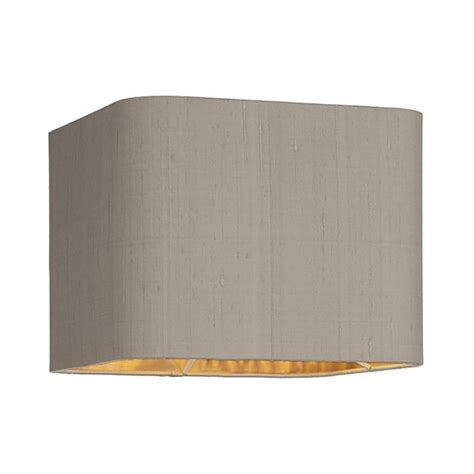 10 Inch Drum L Shade by Dar Lighting Zumin 10 Inch 100 Silk Drum Shade In Taupe