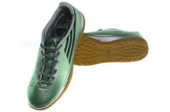 Tas Sepatu Olah Raga Hijau adidas f50 bentol hijau metalic graha sepatu olah raga