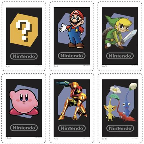 news print your own ar cards for 3ds page 1 cubed3 - Nintendo 3ds Gift Card