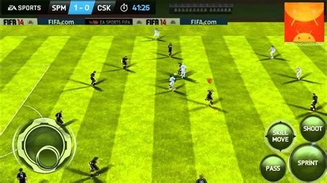 fifa 14 android fifa 14 android gameplay part 5 hd