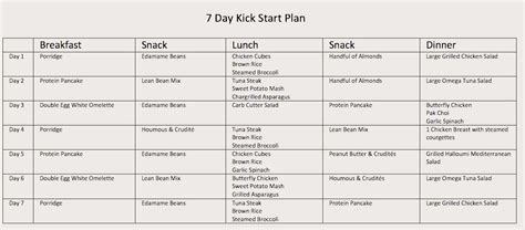 protein 7 day meal plan 7 diet plan to lose weight fast fotolip rich image