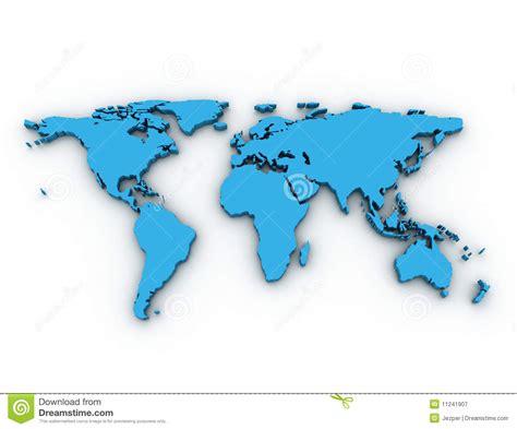 earth map 3d 3d world map stock illustration illustration of australia