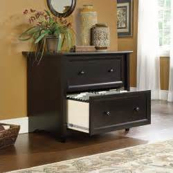 decorative file cabinets for the home sauder edge water lateral file estate black filing cabinet