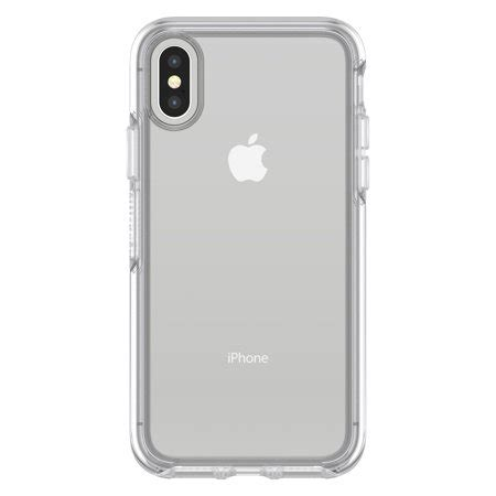 otterbox symmetry series clear case  iphone  clear