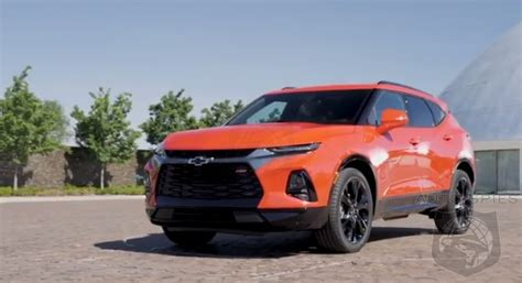 chevrolet blazer   unveiled