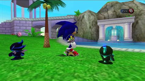 Sonic Chao Garden by Sonic Adventure 2 Chao Garden Different Types Of Chaos