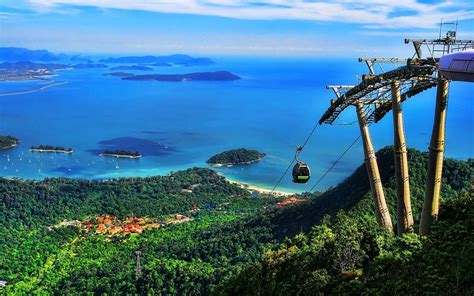 Car Wallpaper Hd Pc Display Cable by Langkawi Cable Car Attraction On The Island Of Langkawi