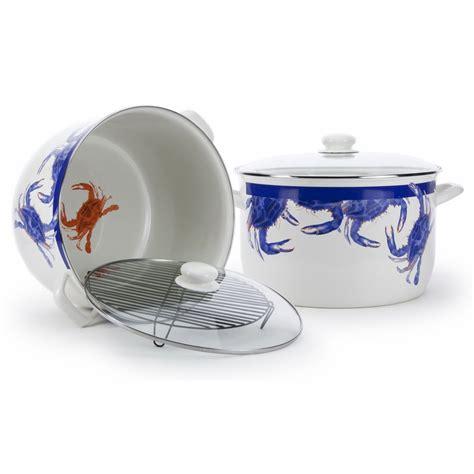 Stock Pot Golden blue crab stock pot by golden rabbit