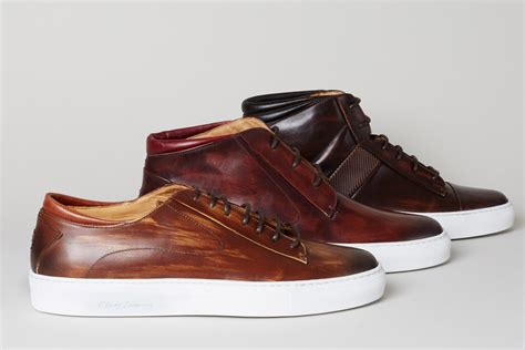 leather mens sneakers oliver sweeney introduces new men s sneakers footwear news