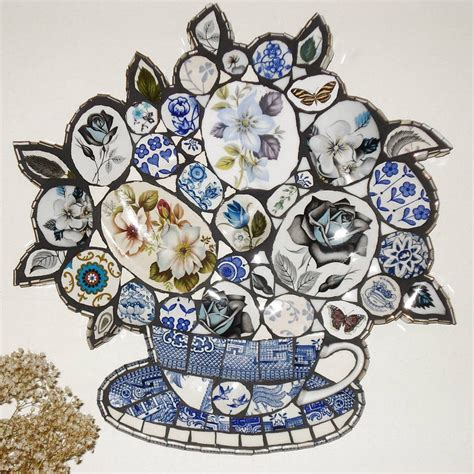 willow pattern mosaic 1000 images about blue white willow patterns on