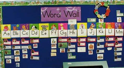 learning pattern word wall word wall learning strategies for ell s