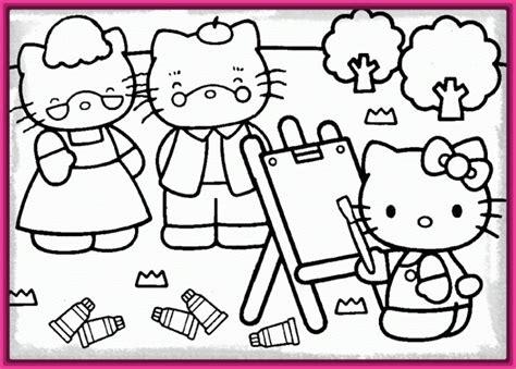 imagenes kitty para imprimir dibujos para colorear e imprimir de hello kitty muy