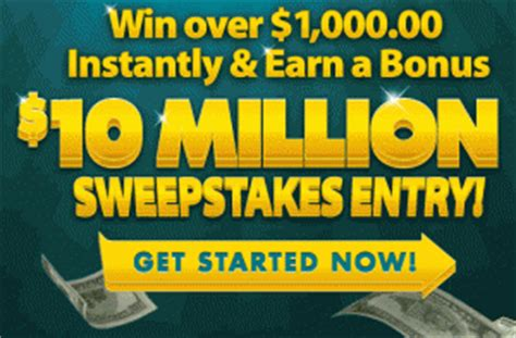 Instant Win Sweepstakes Today - 10 000 000 pch instant win sweepstakes sweeps maniac