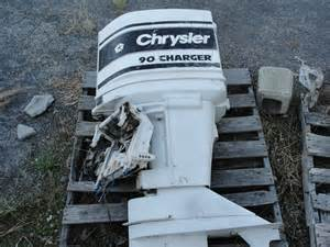 Chrysler Outboard History 1980 Chrysler 90 Hp Charger Outboard Engine Ebay