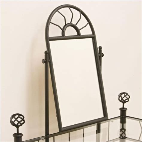 black vanity table with mirror and bench coaster vanity set includes vanity table mirror and bench sunburst