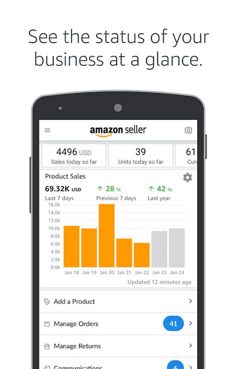 seller central mobile app seller android apps on play