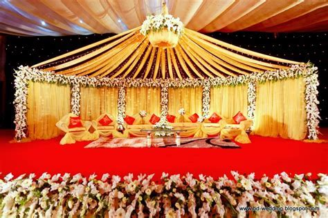 Bengali Wedding Guide: Double Wedding Ceremony stage design