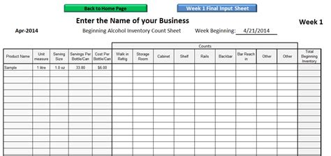 stock count template 26 images of template for inventory par crazybiker net