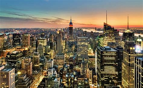 observation deck top of the rock the most picturesque places in new york keith w springer