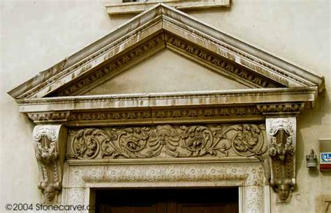 ancient roof pediment glossary of architectural terms
