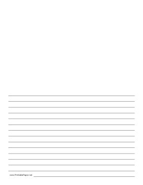 free printable half lined paper this lined paper gives you half a page for writing and