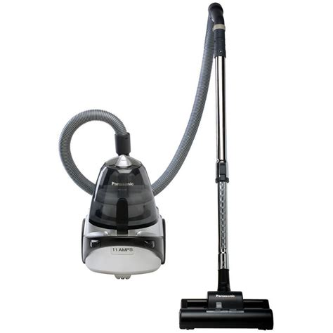 to vacuum shop panasonic bagless canister vacuum cleaner at lowes com